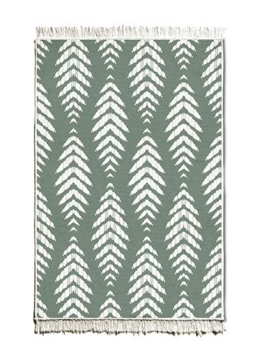 The Mia Kilim 150 x 100 Cm - Çift Taraflı Yeşil